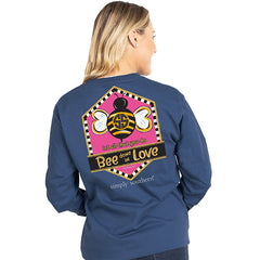 'Let All You Do Bee Done In Love' Long Sleeve Tee by Simply Southern