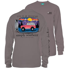 'Life Is An Adventure' Long Sleeve Tee by Simply Southern