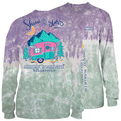 Youth 'Shine Like The Stars' Tie Dye Long Sleeve Tee by Simply Southern