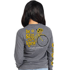 'Be Still and Know' Long Sleeve Tee by Simply Southern