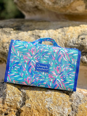 Leaves Printed Makeup Bag by Simply Southern