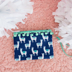 Lulu Llama Wristlet (3-4 Week Production Time)