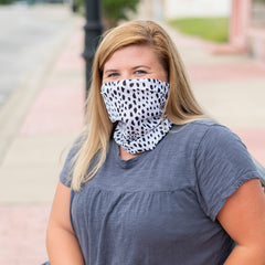 Adult Printed Neck Gaiter - Spot On