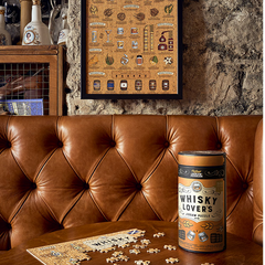 Whiskey Lovers Jigsaw Puzzle 500 Piece