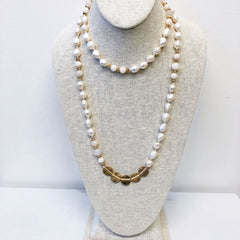 Margot Pearl Long Necklace