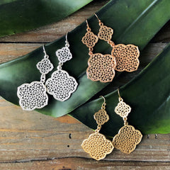 Marisa Dangles - Gold, Silver, or Rose Gold
