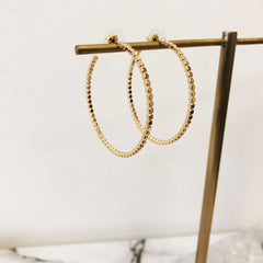 Marissa Hoop Earrings - Choice of Color