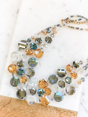 Monica Statement Necklace - Multi