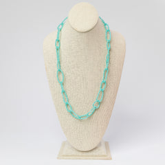 Final Sale: Lianna Chain Link Dazzle Long Necklace- 2 Colors Available