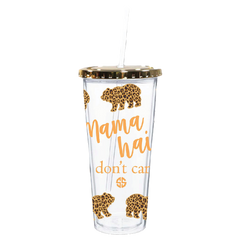 'Mama Hair' Bear Double Wall Tumbler by Simply Southern