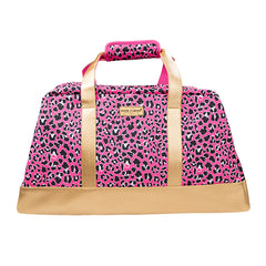Pink Leopard Duffel Bag by SS