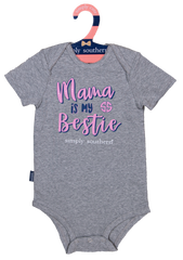 Baby Crawler Onesie by Simply Southern - Mama Is My Bestie