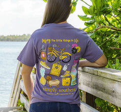 'Enjoy the Little Things' Short Sleeve Tee by Simply Southern