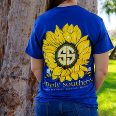 'Simply Bee Happy' Sunflower Short Sleeve Tee by Simply Southern