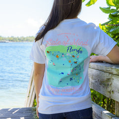 'State of Mind' Florida Short Sleeve Tee by Simply Southern