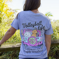 'Volleyball is Life' Short Sleeve Tee by Simply Southern