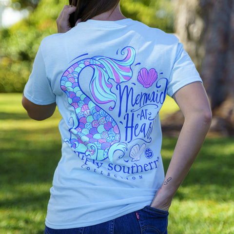 Simply Southern T-Shirt Mermaid at Heart