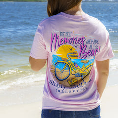 'Best Memories Are Made At the Beach' Short Sleeve Tee by Simply Southern