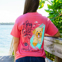 'My Dog is My Copilot' Short Sleeve Tee by Simply Southern