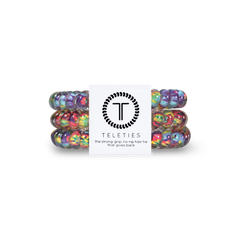 Teleties Hair Tie - Small Band Pack of 3 - Psychedelic