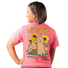 'Stop and Smell The Flowers' Short Sleeve by Simply Southern
