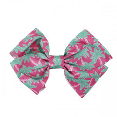 Palm Tree Hair Bow by Simply Southern