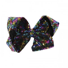 Floral Sequin Hair Bow by Simply Southern