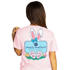 Youth 'Happy Easter' Bunnies Short Sleeve by Simply Southern