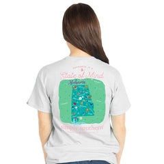 Alabama 'State of Mind' Short Sleeve Tee by Simply Southern
