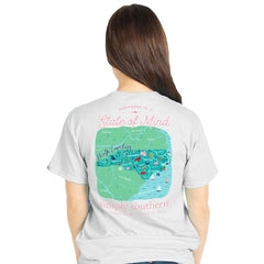 North Carolina 'State of Mind' Short Sleeve Tee by Simply Southern