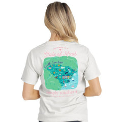 South Carolina 'State of Mind' Short Sleeve Tee by Simply Southern