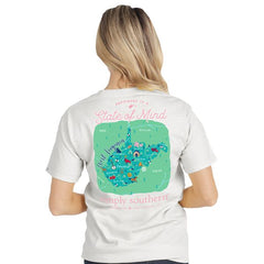 West Virginia 'State of Mind' Short Sleeve Tee by Simply Southern