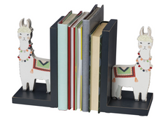 Llama Book Ends By Primitives by Kathy at Prep Obsessed