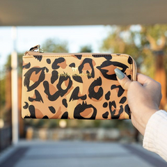 Leopard Wristlet Wallet by Simply Southern