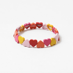 Multi Heart Stretch Bracelet