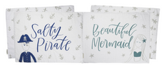 Salty Pirate Beautiful Mermaid Pillow Case Set by PBK