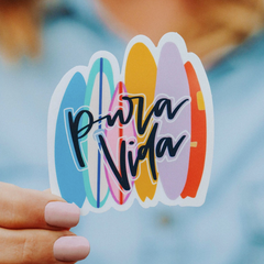 Surf Stack Sticker by Pura Vida