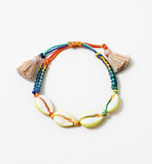 Braided Puka Shell Bracelet