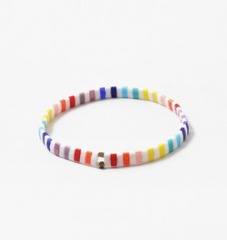 Stackable Rainbow Stretch Bracelet