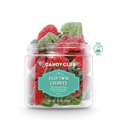Sour Twin Cherries by Candy Club - Large