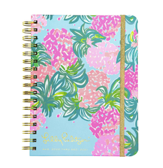 17 Month Large Agenda by Lilly Pulitzer - Pineapple Shake