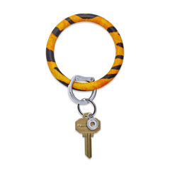 O-Venture Silicone Key Ring - Tiger