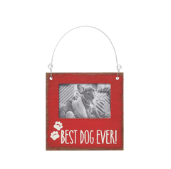 'Best Dog Ever' Photo Ornament