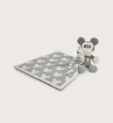 CozyChic Vintage Disney Mickey Mouse Blanket Buddie by Barefoot Dreams