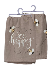 'Bee Happy' Kitchen Towel by PBK