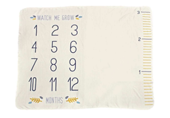 'Watch Me Grow' Milestone Blanket by PBK