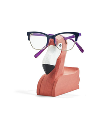 Flamingo Hand-Crafted Eyeglasses Holder