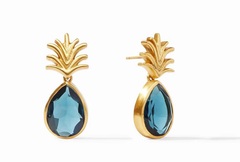 Pineapple Earrings by Julie Vos - Azure Blue