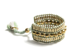 Sadie Adjustable Bracelet - Mint