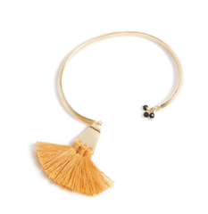Sants Adjustable Bangle - Saffron